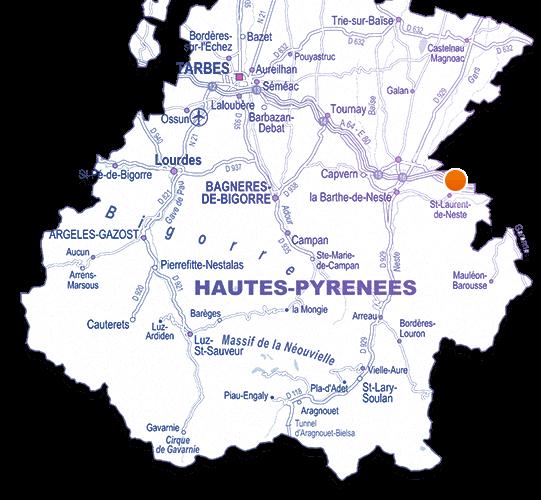 Venir à la zone Pic Pyrénées Innovation
